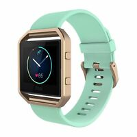 Band with Frame For Fitbit Blaze Smart Fitness Watch Silicone Replacement Straps