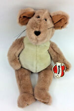 "Ganz Mattie Mouse Brown 1995 Vintage Plush Stuffed Animal 13"" NEW"