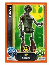 figurina card stickers NEW STAR WARS FORCE ATTAX N.29 GA-97