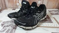 asics gt 2000 T2K7N 38euro/7us men's grey/black run walking trainers (24.0cm) di