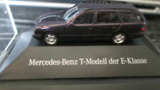 MERCEDES BENZ T-MODELL DER E-KLASSE PLASIC MODEL MINT 5CM