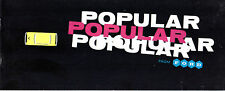 Ford Popular 100E 1960-61 UK Market Small Format Sales Brochure Standard De Luxe