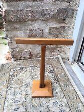 Ancien Présentoir À Chapeaux Foulard Type Siegel Objet De Métier Meuble 1930