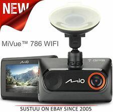 Mio Mivue 786 Touch Wi-Fi Car GPS Dash Camera│1080p Full HD Accident Recording