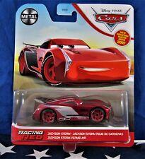 MATTEL -  DISNEY/PIXAR - CARS -  * RACING RED  JACKSON STORM *  - Metal Series