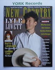 NEW COUNTRY MAGAZINE - August 1996 - Lyle Lovett / Patty Loveless