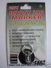 Bivvy Zip Marker - Tritium traser Light (Military)
