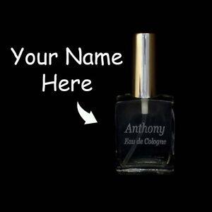 Perfume Atomizer Refillable Laser Engraved Glass Bottle Silver Spray 15ml 1/2oz