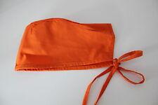 Orange Scrub Cap - Medical Surgical Nursing Vet Nurse Dentist - FREE Shipping
