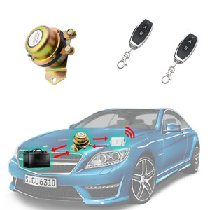 DC 12V/24V Copper Car Battery Switch Remote Control - Disconnect Latching Relay