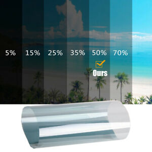 """Window Tint Roll 50% VLT 20"""" in 5ft feet Home Commercial Office Auto Film"""