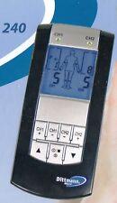 Dittmann Tensgerät TEN 240 LED-Anzeige 13 Progr. 2 Kanäle Timer Frequenz 1-100Hz
