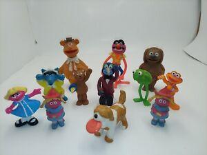 Vintage  Muppet Show Action Figure Lot of 12 1970s Rare