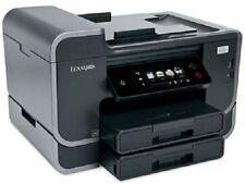 Lexmark Pro905 Pro 905 PLATINO Multifunción FAX WLAN COMO NUEVO + XXL CARTUCHOS