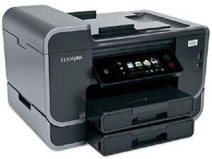 Lexmark Pro905 Pro 905 Platinum Multifunktion FAX WLAN wie NEU + XXL Cartuschen