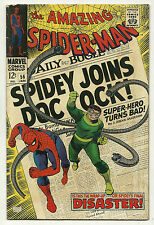 Amazing Spider-Man 1968 #56 Fine 1st Captain Stacy