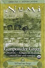Gunpowder Green Tea, Numi Organic Tea, 18 tea bags