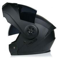 DOT Approved Modular Flip up Motorcycle Helmet Racing Dual Lens Motorbike Helmet
