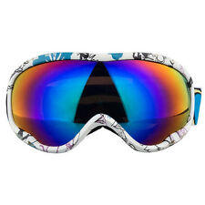 2016 Mens Winter  Skiing Snow Snowboard Ski Goggles Anti Fog Double Lens Blue