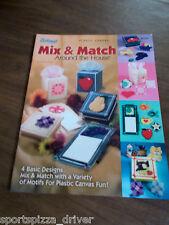 Mix & Match Around the House Plastic Canvas Leaflet The Needlecraft Shop#845520