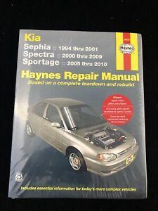 Kia Sephia Spectra Sportage Repair Manual, Haynes 54070, NEW & SEALED!
