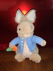"Gund Peter Rabbit Plush Beatrix Potter Stuffed 7"" Toy   Blue Vest Carrot 2018"