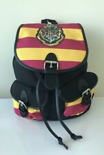 Harry Potter Hogwarts Backpack Canvas School Book Bag Cosplay Bags Fans Gift New