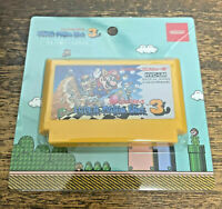 MEMO| Nintendo Game Famicom Cassette Type Memo in Case Super Mario Bros. 3 Japan