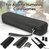 Carry Bag For Against Humanity Card Storage Hard Case Games Card Long Square Box