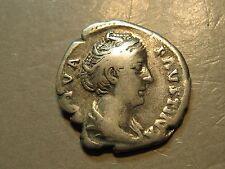 ANCIENT ROME  Faustina Senior Silver Denarius  ROME MINT   #A304