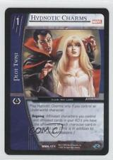 2005 Vs System Marvel Knights Booster Pack Base Mmk-171 Hypnotic Charms Card 3v2
