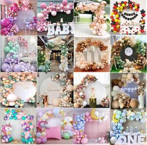 Balloon Arch Kit Set Birthday Wedding Party Garland Decor Coffee Gold Balloons