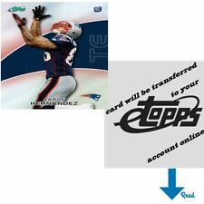 Aaron Hernandez 2010 eTopps (Qty: 1) - transferred to your account