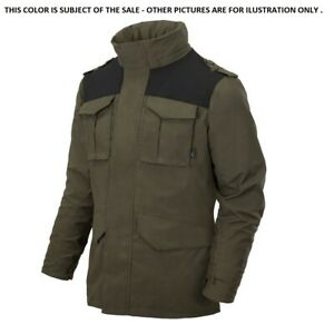 HELIKON TEX® COVERT M65 Professional Concealed Carry Jacket -Taiga Green Black A