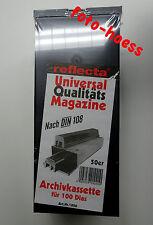 Reflecta Universalmagazin nach DIN 108 Diamagazin Doppelpack NEU