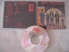 CRYPTIC SLAUGHTER - Convicted 1986/1989 1pr CD MINT! Negative Approach INFEST