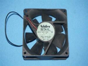 Nidec D08T-12PH D08T12PH Beta SL Fan Cut Wire