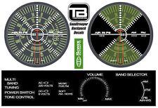 Star Wars ANH Stormtrooper Sandtrooper TD Backpack Radio Dial Decal Sticker Set