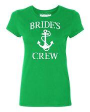 Bride's Crew (White) Wedding Party Women's T-shirt