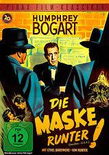 Die Maske runter - DVD Humphrey Bogart und Ethel Barrymore Pidax Neu Ovp