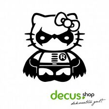 Hello Kitty Robin Batman // Sticker OEM JDM Style Aufkleber // Sticker JDM Aufkl