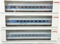 MARKLIN 4384 4327  3 RAIL - DB INTERCITY EXPRESS COACHES & BISTRO CAFE CAR SET