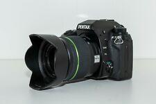 Pentax K K-5 Digitalkamera - Schwarz (Kit mit 18-55mm Objektiv) nur 6400 Klicks!