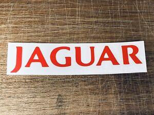 Jaguar Logo Decal. Small. Classic Car Sticker. Logo. Words.
