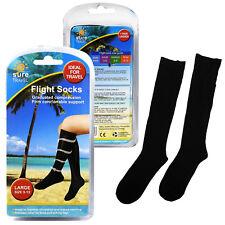 Sure Travel Unisex Universal Mens Womens Compression Flight Socks Multiple Sizes