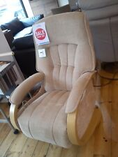 Himolla Mosel Midi Recliner Fabric Chair Ex-Display