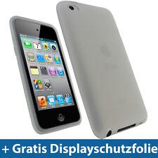 Klar Silikon Tasche Skin für Apple iPod Touch 4G Generation 8/32/64gb Hülle Case