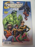 Champions #1 Marvel 2016 Miles Morales Midtown J Scott Campbell Variant 9.4 NM