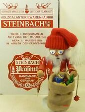 "Steinbach German Wooden Nutcracker Chubby ""Star Santa� S1350 New"