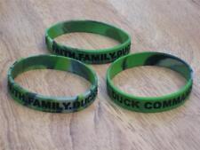 Duck Commander Dynasty Green Camo Bracelet Faith Family Ducks NEW 3-pack